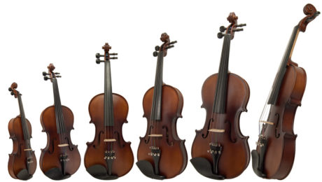 tamanho do violino - Planeta Música