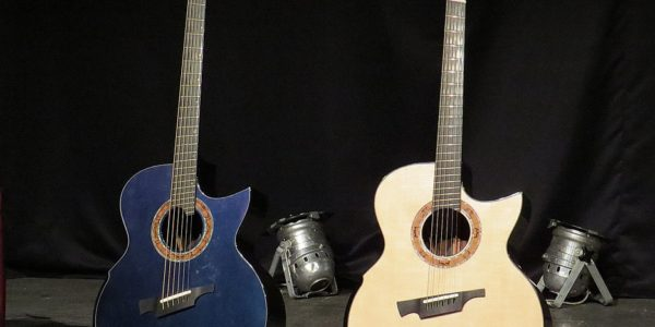 Violão Greenfield G4 Fanned-Fret Andy Mckee