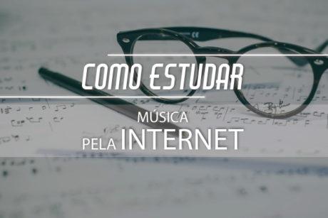 Estudar música pela Internet