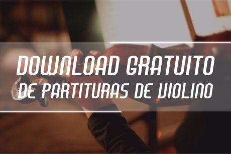 Partituras de Violino Grátis