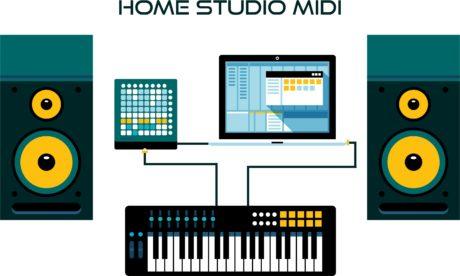 Home Studio - Planeta Música - o que é tecnologia MIDI