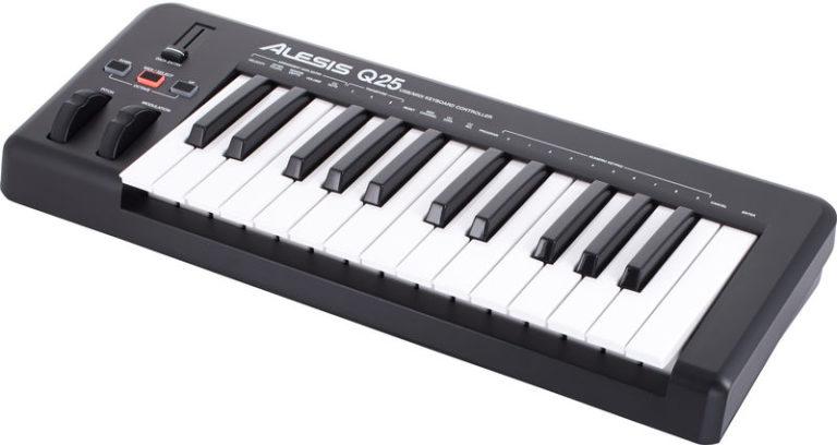 Controlador MIDI - Alesis Q25 - Planeta Música