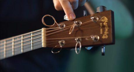 como prender a corda - afinar violão