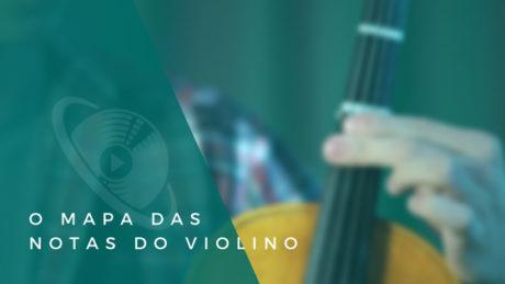 notas do violino