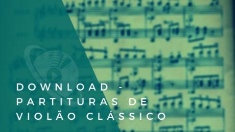 partituras para violão clássico