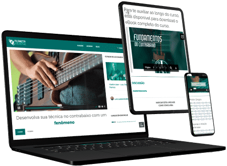 Cursos de contrabaixo online pelo computador ou celular - Planeta Música